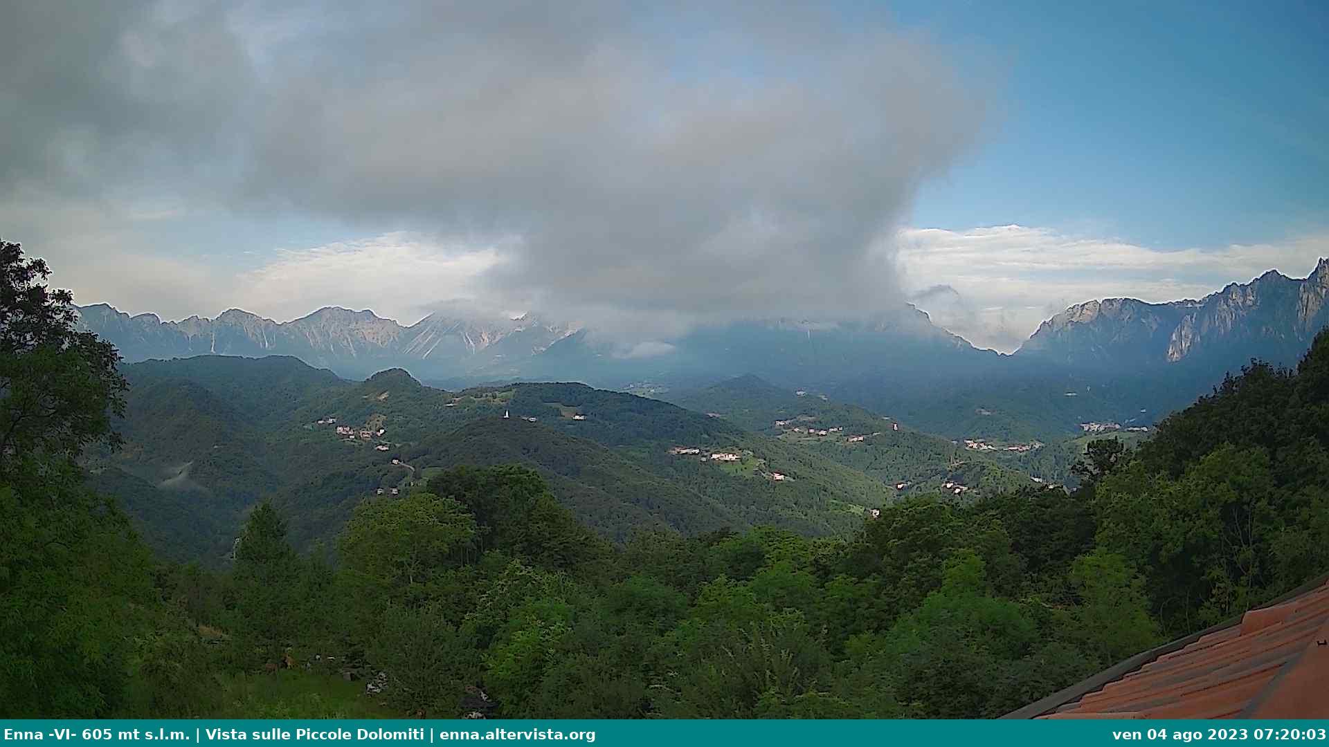 Vista sulle Piccole Dolomiti